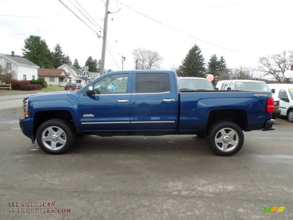 2015 chevrolet silverado 2500hd high country crew cab 4x4 in deep ocean blue metallic 547026. Black Bedroom Furniture Sets. Home Design Ideas