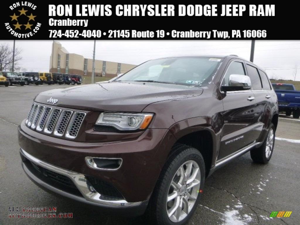 2015 jeep grand cherokee summit 4x4 in deep auburn pearl 705921 all american automobiles. Black Bedroom Furniture Sets. Home Design Ideas