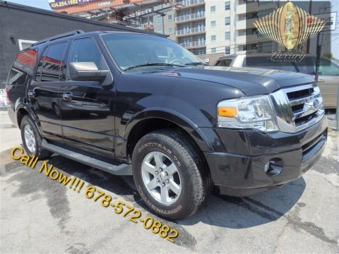 Tuxedo Black 2010 Ford Expedition XLT 4x4