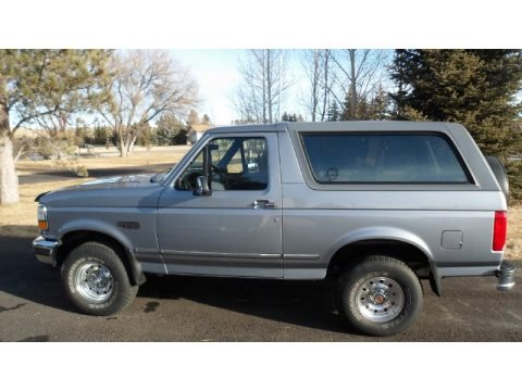 Light Opal Metallic 1994 Ford Bronco XLT 4x4