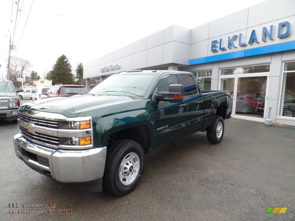 2015 chevrolet silverado 2500hd wt double cab 4x4 in rainforest green metallic 515875 all. Black Bedroom Furniture Sets. Home Design Ideas