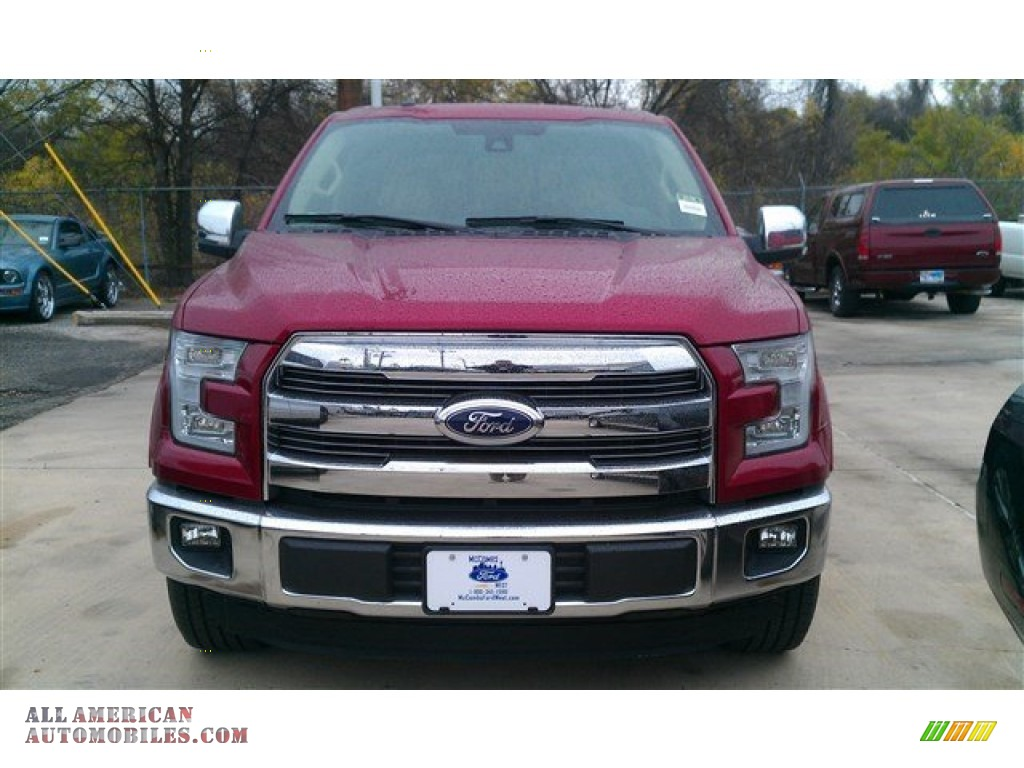 2015 ford f150 lariat supercrew in ruby red metallic photo 30 a05616 all american. Black Bedroom Furniture Sets. Home Design Ideas