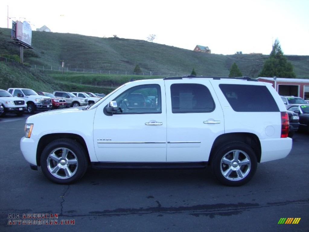 2013 chevrolet tahoe ltz 4x4 in summit white photo 4 313446 all american automobiles buy. Black Bedroom Furniture Sets. Home Design Ideas