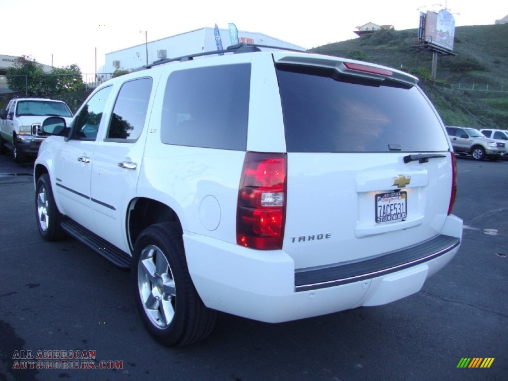 2013 chevrolet tahoe ltz 4x4 in summit white photo 5 313446 all american automobiles buy. Black Bedroom Furniture Sets. Home Design Ideas