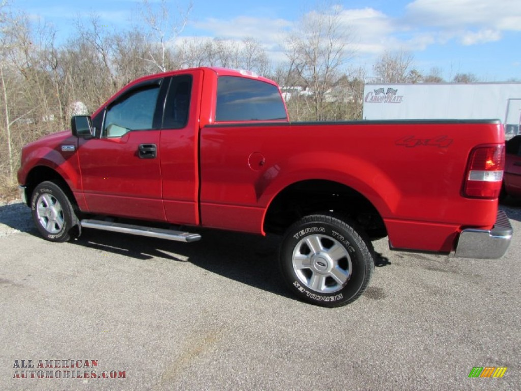 2004 ford f150 xlt regular cab 4x4 in bright red photo 5. Black Bedroom Furniture Sets. Home Design Ideas