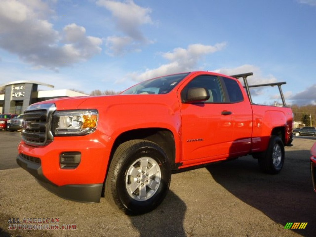 2015 gmc canyon extended cab 4x4 in cardinal red 155241 all american automobiles buy. Black Bedroom Furniture Sets. Home Design Ideas