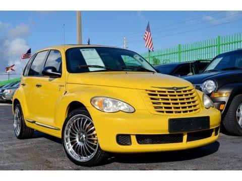 Solar Yellow 2006 Chrysler PT Cruiser Touring