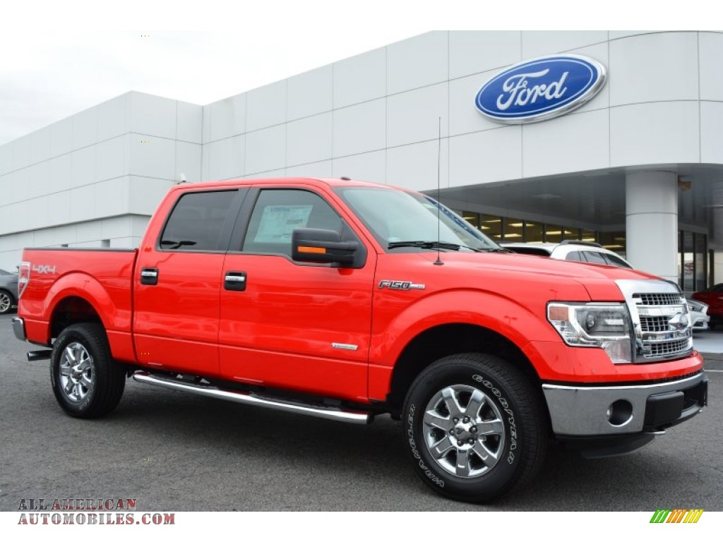 2014 ford f150 xlt supercrew 4x4 in race red f86516 all american automobiles buy american. Black Bedroom Furniture Sets. Home Design Ideas