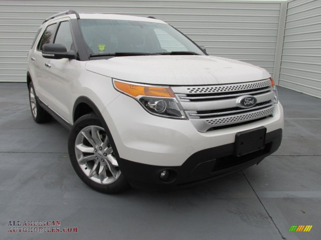 2015 ford explorer xlt in white platinum b49547 all. Black Bedroom Furniture Sets. Home Design Ideas