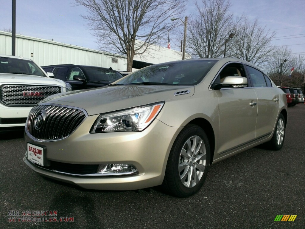 2015 Buick LaCrosse Leather in Champagne Silver Metallic ...