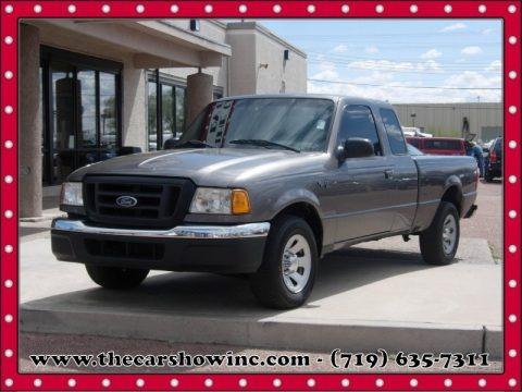 Dark Shadow Grey Metallic 2004 Ford Ranger XL SuperCab