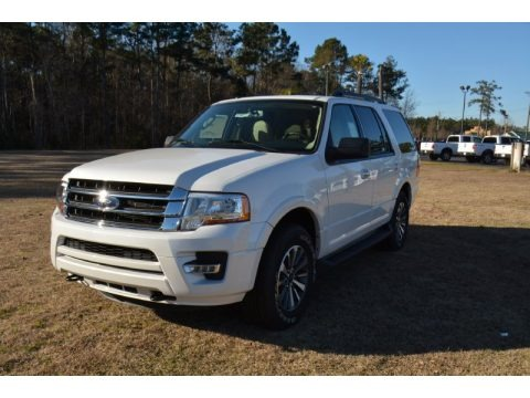 Oxford White 2015 Ford Expedition XLT 4x4