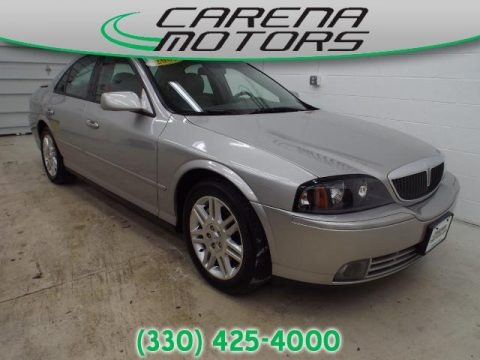 Silver Birch Metallic 2003 Lincoln LS V8