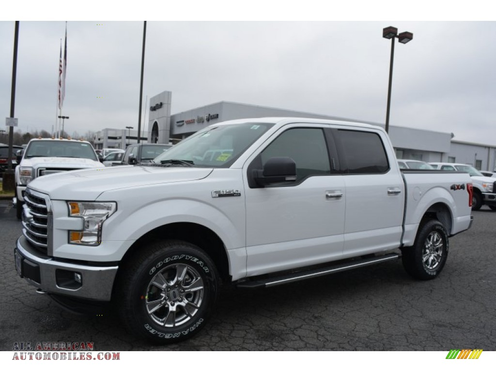 2015 ford f150 xlt supercrew 4x4 in oxford white photo 3 a22503 all american automobiles. Black Bedroom Furniture Sets. Home Design Ideas