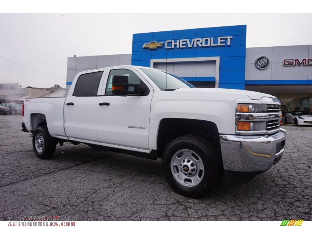 2015 chevrolet silverado 2500hd wt crew cab 4x4 in summit white 557428 all american. Black Bedroom Furniture Sets. Home Design Ideas