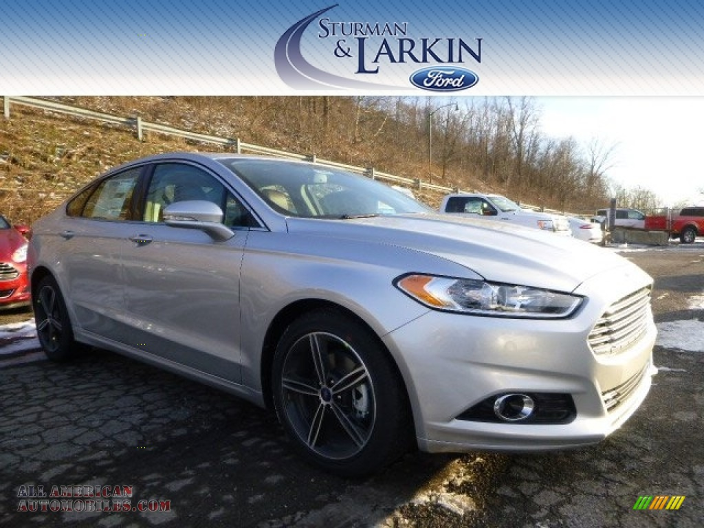 2015 ford fusion titanium in ingot silver metallic 221128 all american automobiles buy. Black Bedroom Furniture Sets. Home Design Ideas