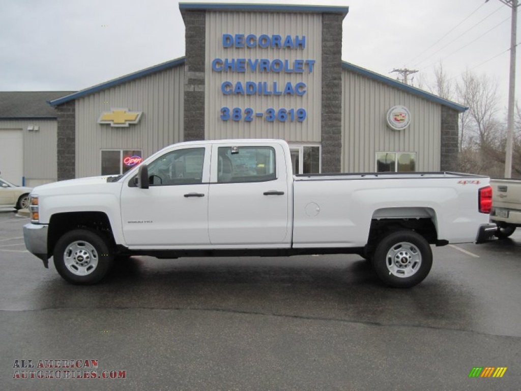 2015 chevrolet silverado 2500hd wt crew cab 4x4 in summit white 182666 all american. Black Bedroom Furniture Sets. Home Design Ideas