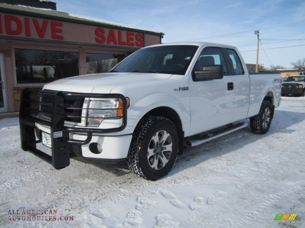 2012 ford f150 stx supercab 4x4 in oxford white b43158 all american automobiles buy. Black Bedroom Furniture Sets. Home Design Ideas
