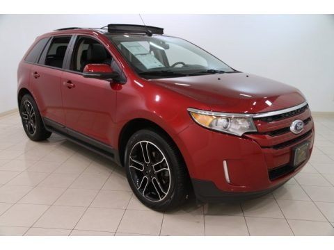Ruby Red 2013 Ford Edge SEL EcoBoost