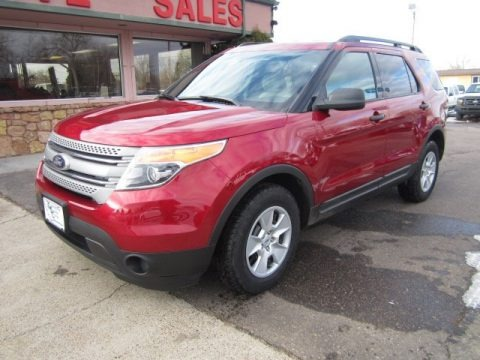 Ruby Red Metallic 2013 Ford Explorer 4WD