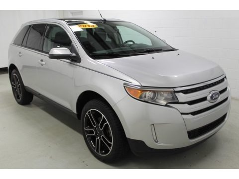 Ingot Silver Metallic 2013 Ford Edge SEL AWD