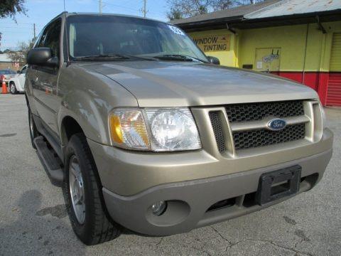 Harvest Gold Metallic 2003 Ford Explorer Sport XLT