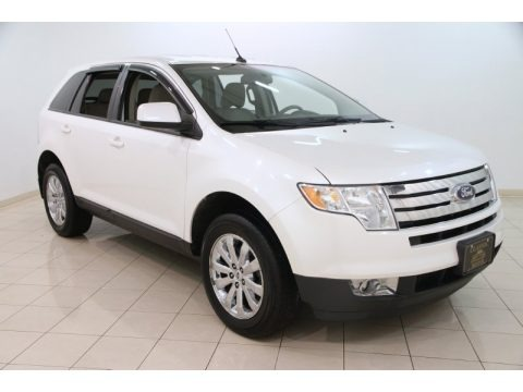 White Platinum Tri-Coat 2010 Ford Edge SEL AWD