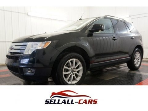 Black 2007 Ford Edge SEL