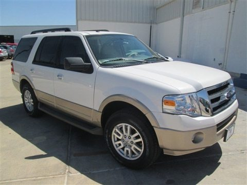 White Platinum 2014 Ford Expedition XLT