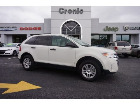 White Suede 2011 Ford Edge SE