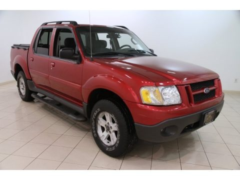 Red Fire 2005 Ford Explorer Sport Trac XLT 4x4