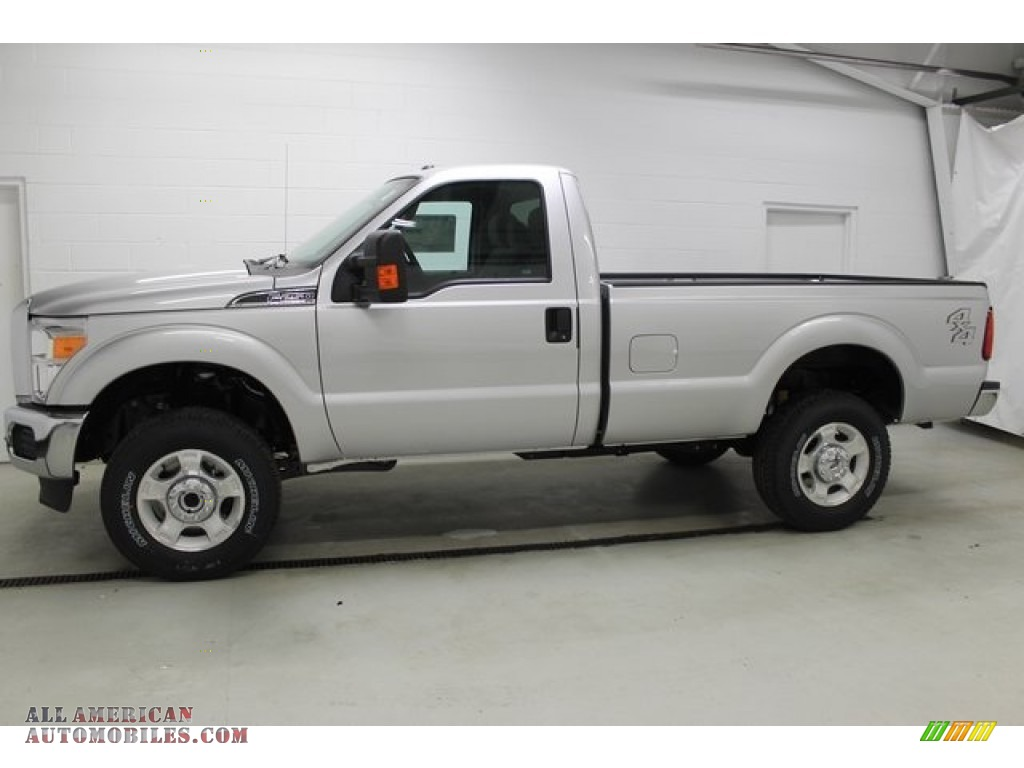 2015 Ford F250 Super Duty Xlt Regular Cab 4x4 In Ingot