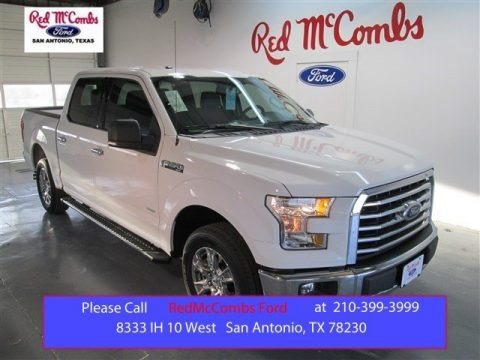 Oxford White 2015 Ford F150 XLT SuperCrew