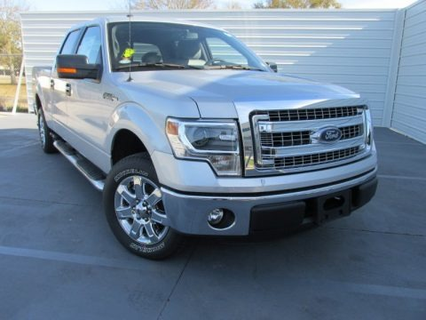 Ingot Silver 2014 Ford F150 XLT SuperCrew