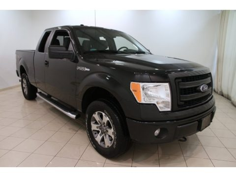 Tuxedo Black Metallic 2013 Ford F150 STX SuperCab 4x4
