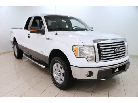 Oxford White 2011 Ford F150 XLT SuperCab 4x4
