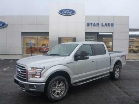 Ingot Silver Metallic 2015 Ford F150 XL SuperCrew 4x4