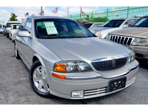 Silver Birch Metallic 2002 Lincoln LS V6