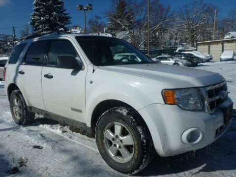Oxford White 2008 Ford Escape XLT V6 4WD