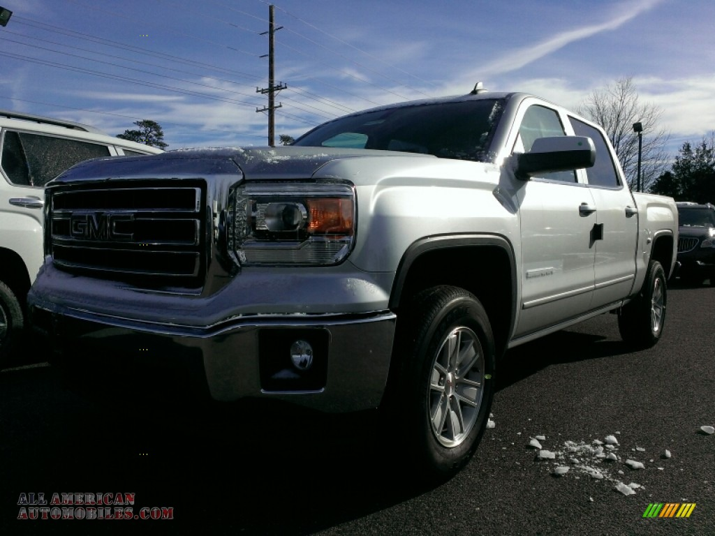 2015 gmc sierra 1500 sle crew cab 4x4 in quicksilver metallic photo 5 232974 all american. Black Bedroom Furniture Sets. Home Design Ideas