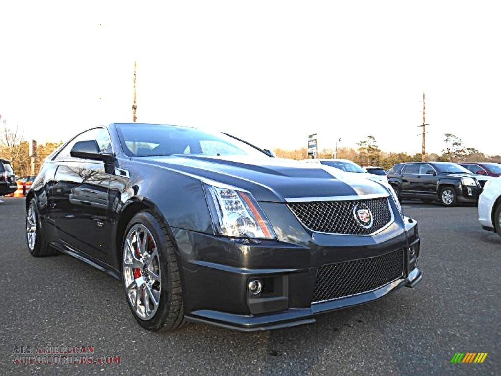 2015 cadillac cts v coupe in phantom gray metallic 100171 all american automobiles buy. Black Bedroom Furniture Sets. Home Design Ideas