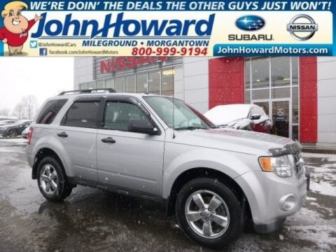Ingot Silver Metallic 2012 Ford Escape XLT V6 4WD