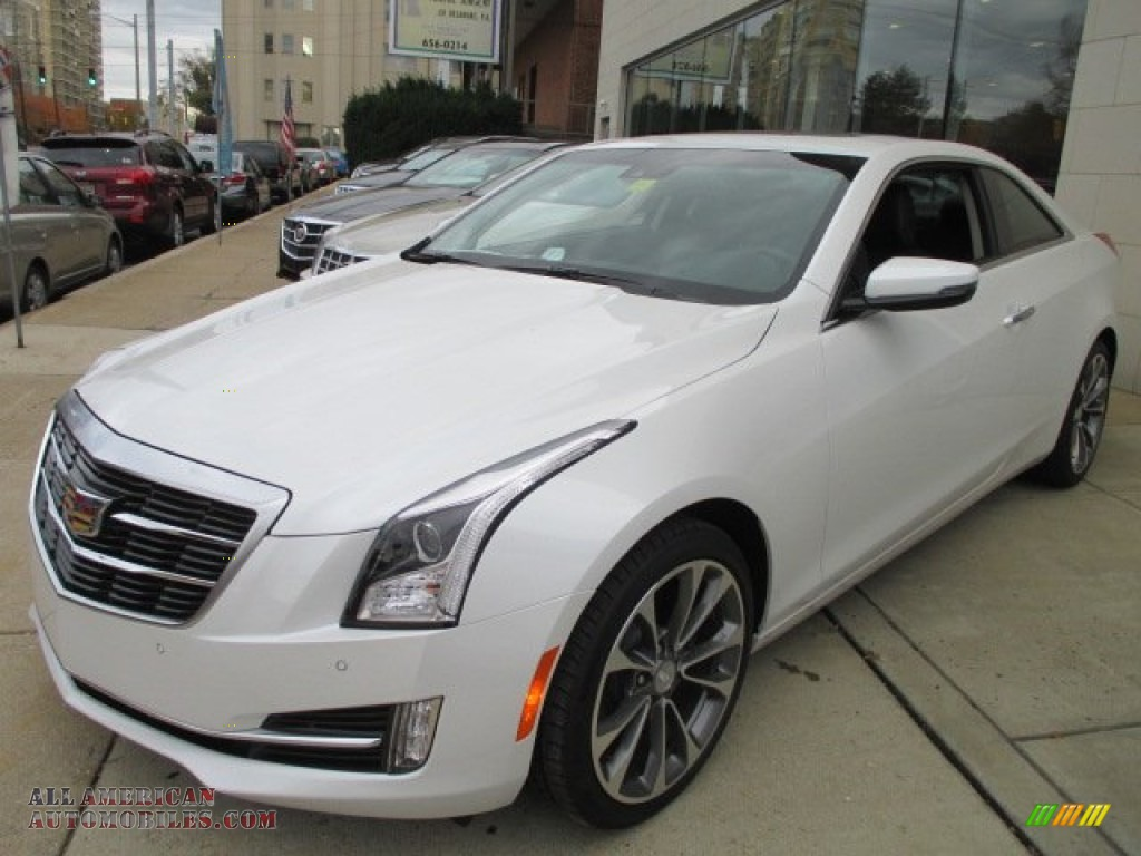 2015 cadillac ats 2 0t luxury sedan in crystal white tricoat 114711 all american automobiles. Black Bedroom Furniture Sets. Home Design Ideas