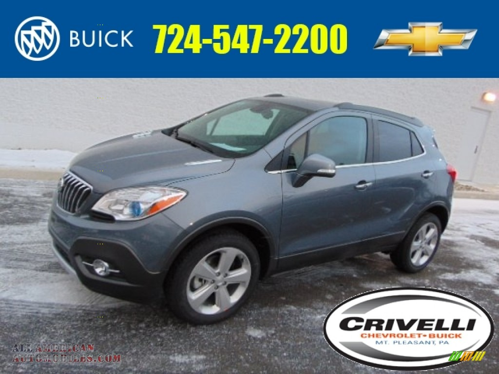 2015 buick encore convenience awd in satin steel gray metallic 092728 all american. Black Bedroom Furniture Sets. Home Design Ideas