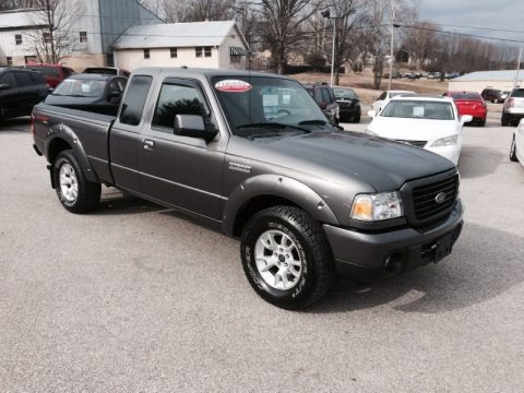 Dark Shadow Grey Metallic 2009 Ford Ranger Sport SuperCab 4x4