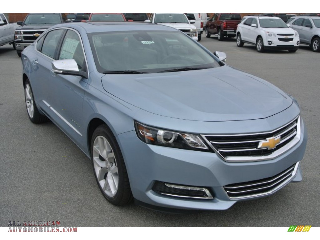 2015 chevrolet impala ltz in silver topaz metallic 120387 all american automobiles buy. Black Bedroom Furniture Sets. Home Design Ideas
