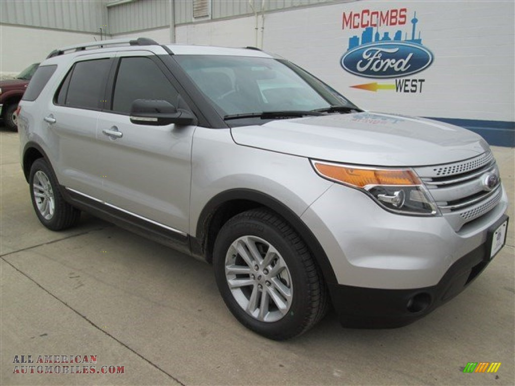 2015 ford explorer xlt in ingot silver b80222 all american