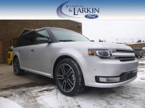 Ingot Silver 2014 Ford Flex Limited AWD