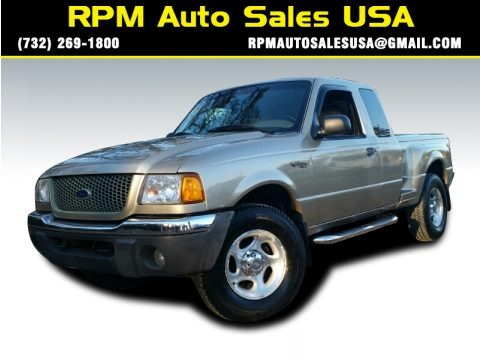 Harvest Gold Metallic 2001 Ford Ranger XLT SuperCab 4x4