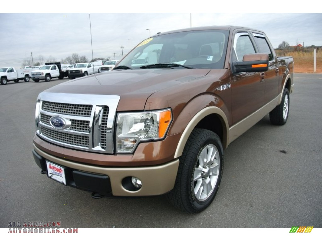 2012 ford f150 lariat supercrew 4x4 in golden bronze metallic photo 2 c68238 all american. Black Bedroom Furniture Sets. Home Design Ideas